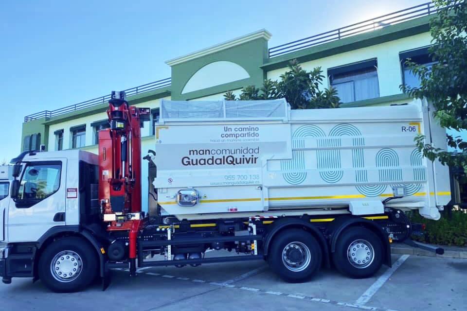 camion reciclaje mancomunidad